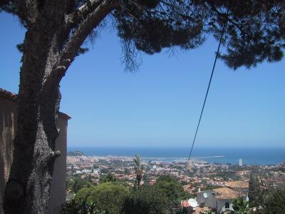 Blick aufs Mittelmeer von Denia aus