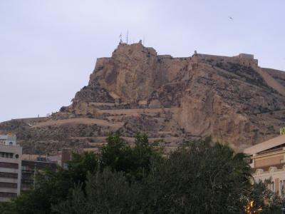 Die Burg von Alicante