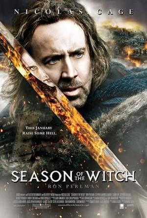 Kinoplakat der letzte Tempelritter mit Nicolas Cage in der Hauptrolle.