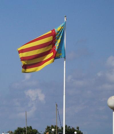 Flagge der Comunidad Valencia